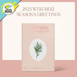 WEKI MEKI - 2021 SEASON GREETINGS