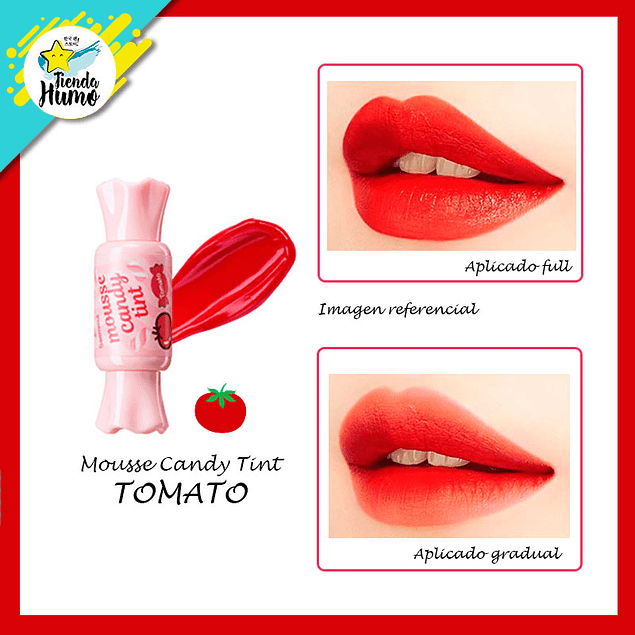 CANDY TINT MOUSSE - TOMATO - The SAEM