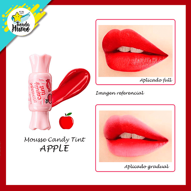 CANDY TINT MOUSSE - APPLE - The SAEM
