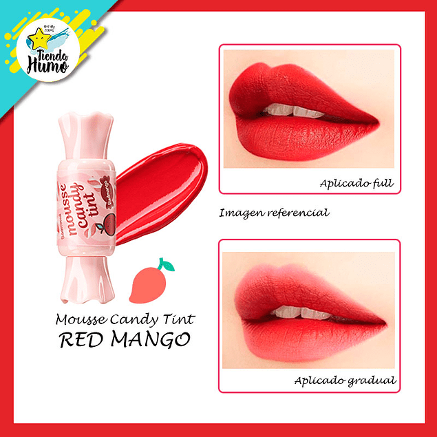 CANDY TINT MOUSSE - RED MANGO - The SAEM