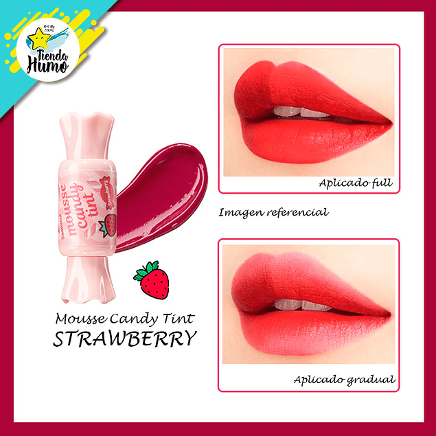 CANDY TINT MOUSSE - STRAWBERRY - The SAEM
