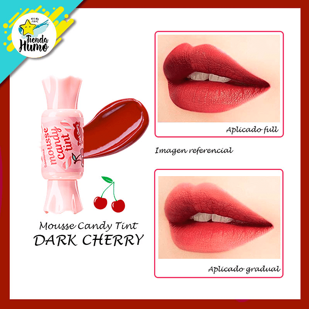 CANDY TINT MOUSSE - DARK CHERRY - The SAEM