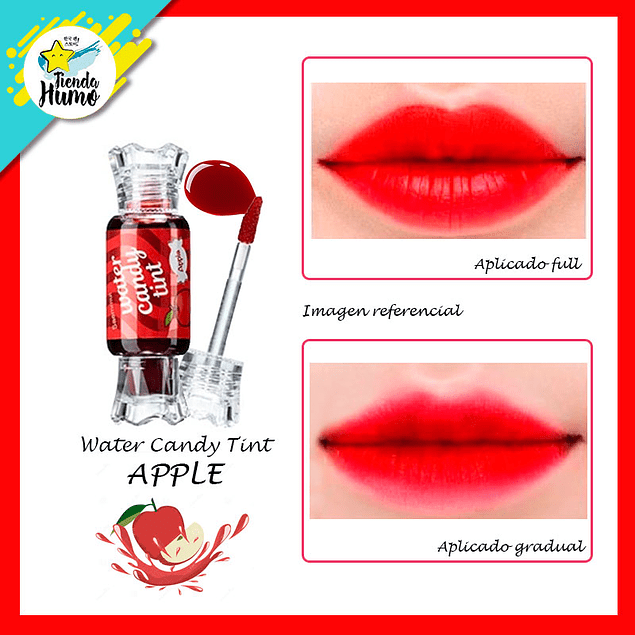 CANDY TINT WATER - APPLE - The SAEM