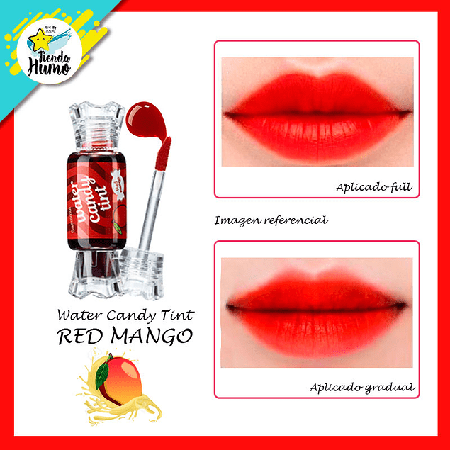 CANDY TINT WATER - RED MANGO - The SAEM