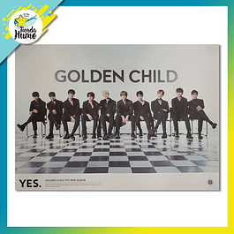 POSTER GOLDEN CHILD - YES VERSION 1