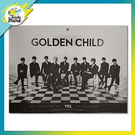 POSTER GOLDEN CHILD - YES VERSION 2