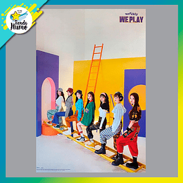 POSTER WEEEKLY - WE PLAY (UP Ver.)