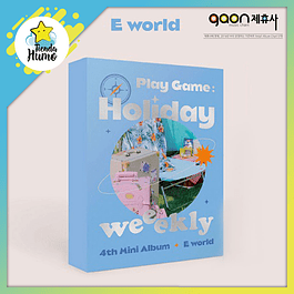 WEEEKLY - PLAY GAME : HOLIDAY (E WORLD Ver.)