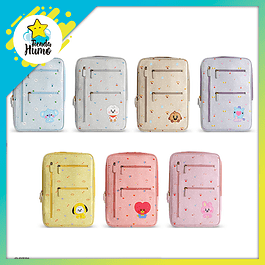 BABY HANDY LAPTOP POUCH LARGE - BT21 X MONOPOLY
