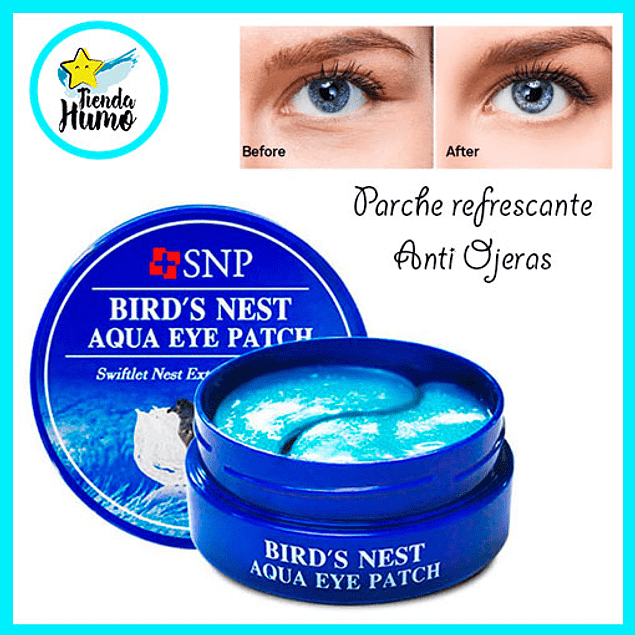 AQUA EYE PATCH - BIRD'S NEST?SNP