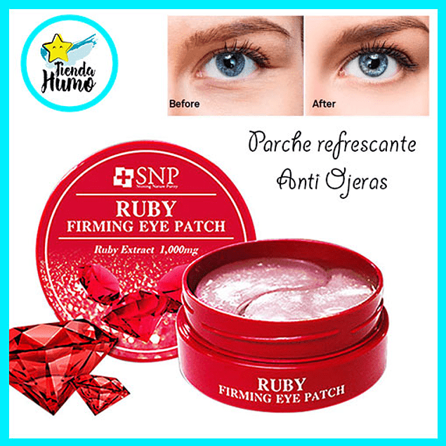 FIRMING EYE PATCH - RUBY - SNP