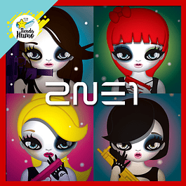 2NE1 - THE SECOND MINI ALBUM