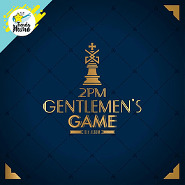 2PM - GENTLEMAN GAME NORMAL EDITION