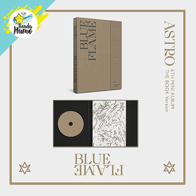 ASTRO - BLUE FLAME (BOOK Ver.)