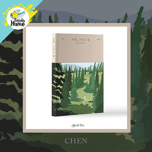 EXO CHEN - APRIL AND A FLOWER (APRIL Ver.)