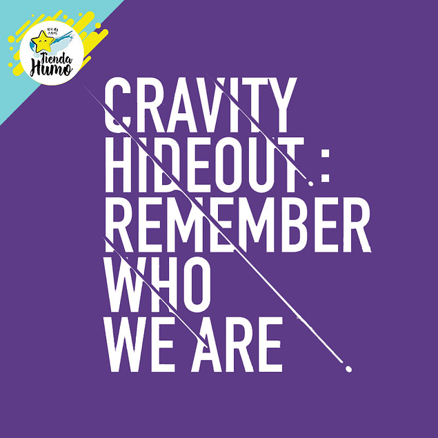 CRAVITY - SEASON 1 HIDEOUT: REMEMBER WHO WE ARE (Ver. 2)