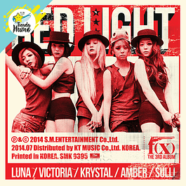 F(X) - RED LIGHT (WILD CATS Ver.)