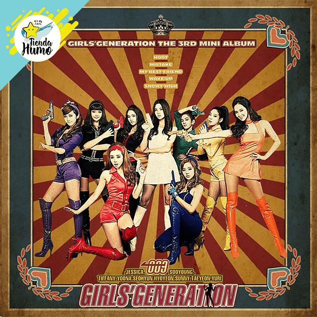 GIRLS GENERATION - MINI ALBUM 3 [HOOT]