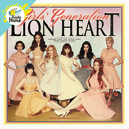 GIRLS GENERATION - LION HEART