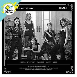 GIRLS GENERATION OH!GG - LIL' TOUCH KIHNO ALBUM