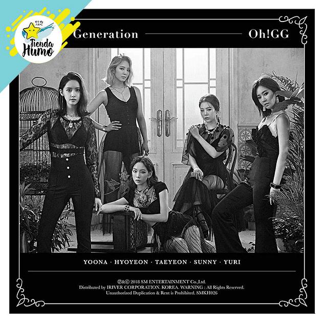 GIRLS GENERATION OH!GG - LIL' TOUCH KIHNO ALBUM