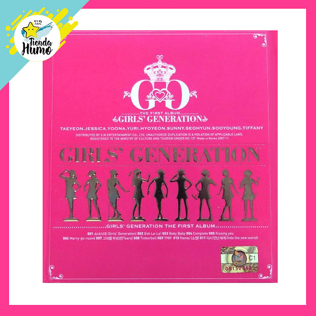 GIRLS GENERATION - THE FIRST ALBUM