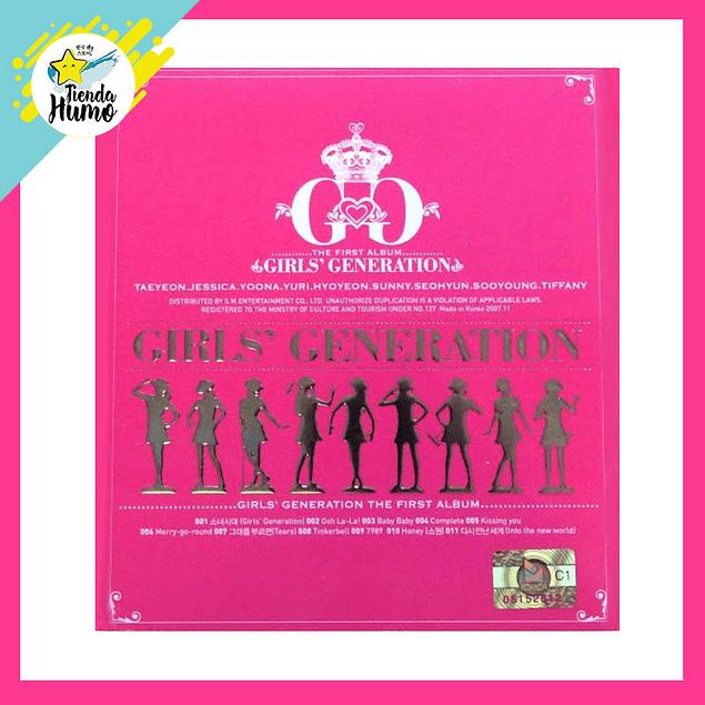 GIRLS GENERATION - GIRLS GENERATION