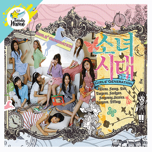 GIRLS GENERATION - IN TO THE NEW WORLD