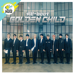 GOLDEN CHILD - RE-BOOT (NORMAL Ver.)