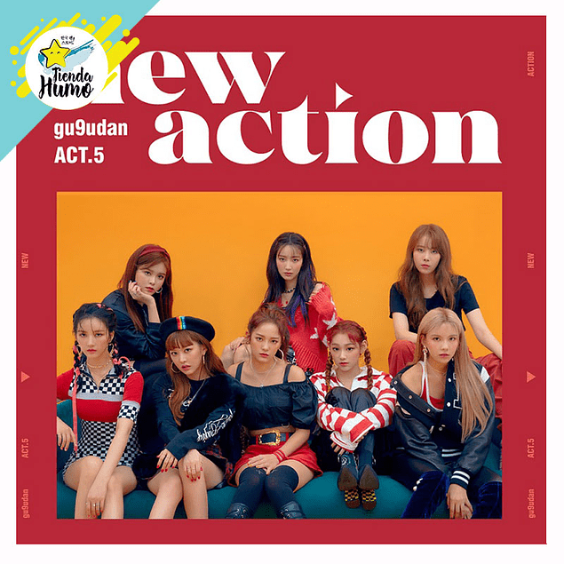 GUGUDAN - NEW ACTION