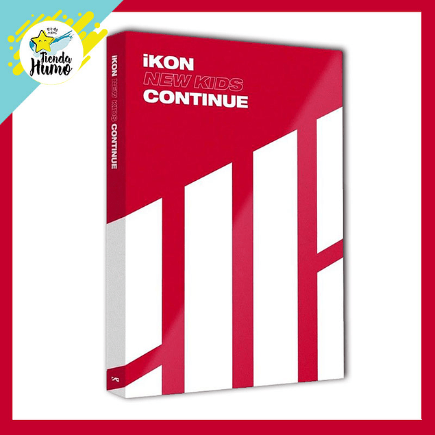 IKON - NEW KIDS CONTINUE (RED Ver.)