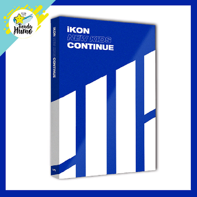 IKON - NEW KIDS CONTINUE (BLUE Ver.)