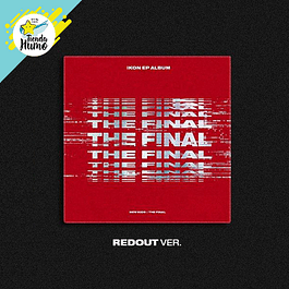 IKON - NEW KIDS THE FINAL (REDOUT Ver.)