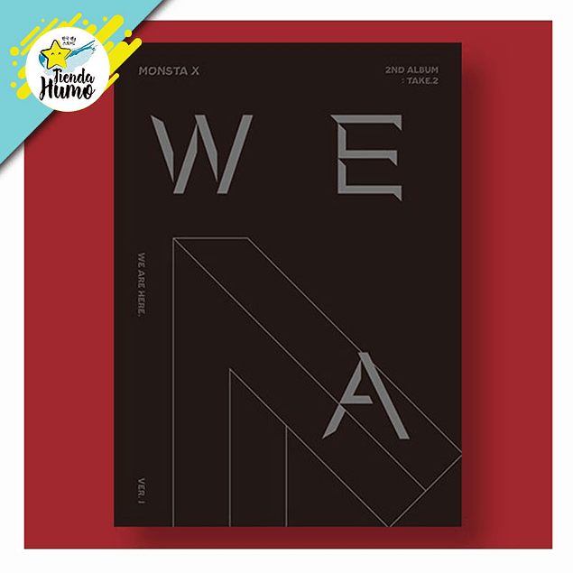 MONSTA X - WE ARE HERE (Ver. 1)