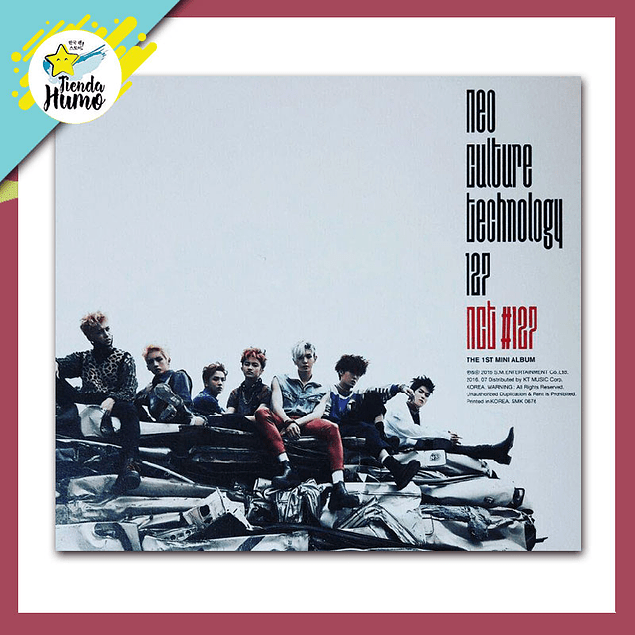 NCT 127 - FIRE TRUCK 1ST MINI ALBUM