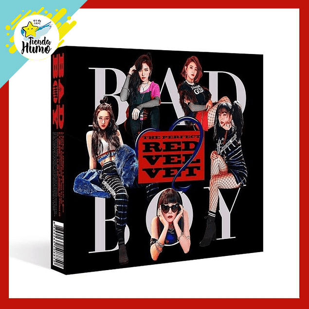 RED VELVET - THE PERFECT RED VELVET (BAD BOY)