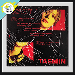 SHINEE TAEMIN - WANT (MORE Ver.)