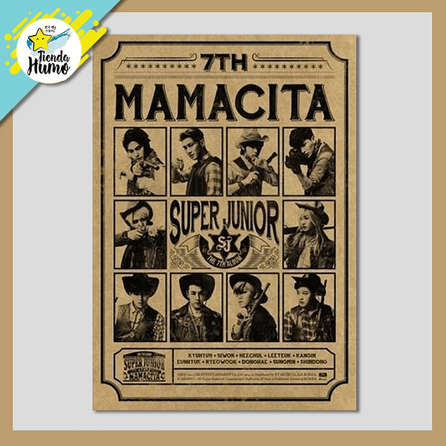 SUPER JUNIOR - MAMACITA (B Ver.)