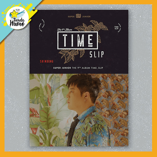 SUPER JUNIOR - TIME SLIP (SHINDONG Ver.)