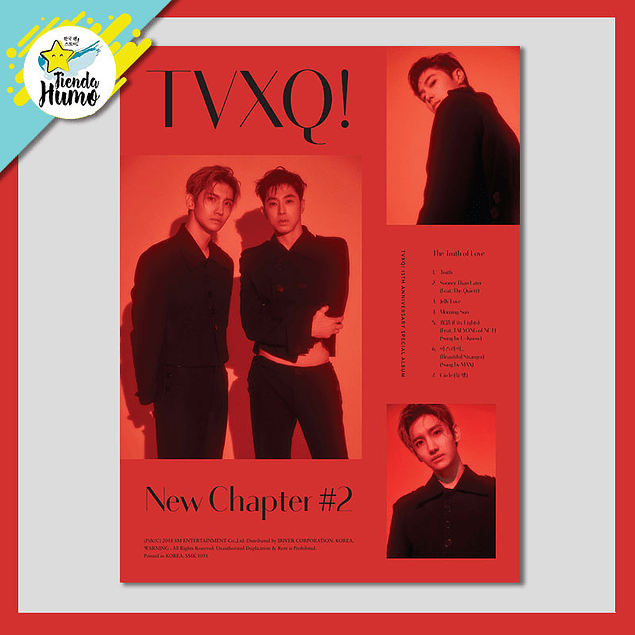 TVXQ - NEW CHAPTER 2 (RED Ver.)