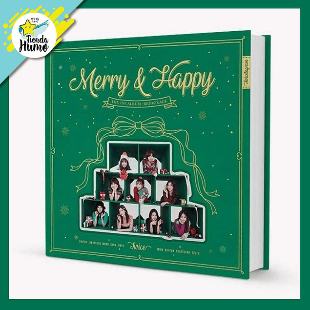 TWICE - MERRY AND HAPPY (MERRY Ver.)