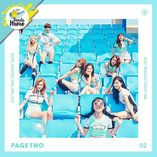 TWICE - PAGE TWO (MINT Ver.)