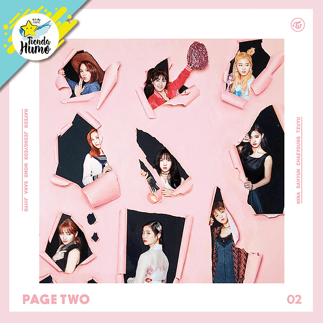 TWICE - PAGE TWO (PINK Ver.)