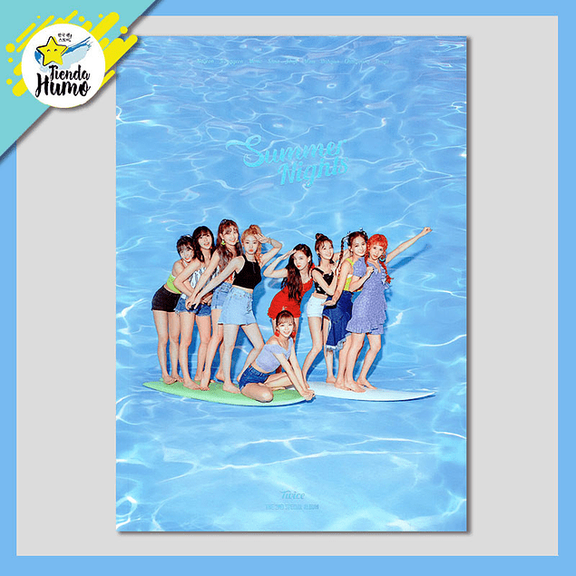 TWICE - SUMMER NIGHTS (A Ver.)