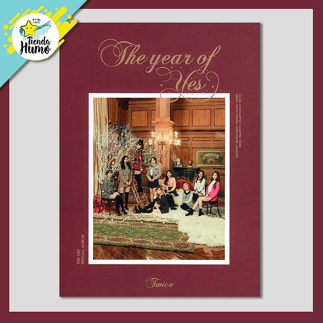 TWICE - THE YEAR OF YES (B Ver.)