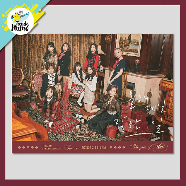 TWICE - THE YEAR OF YES (A Ver.)