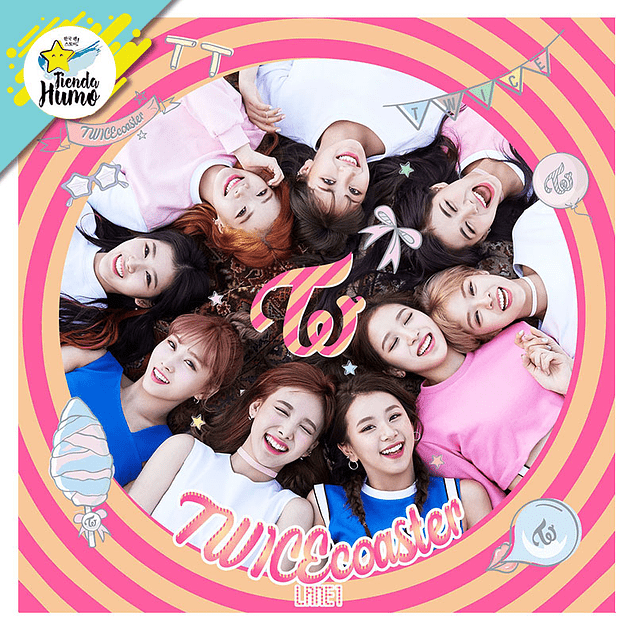 TWICE - TWICEcoaster: LANE 1 (MAGENTA Ver.)