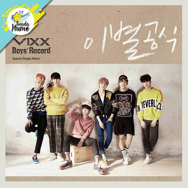 VIXX - BOYS RECORD