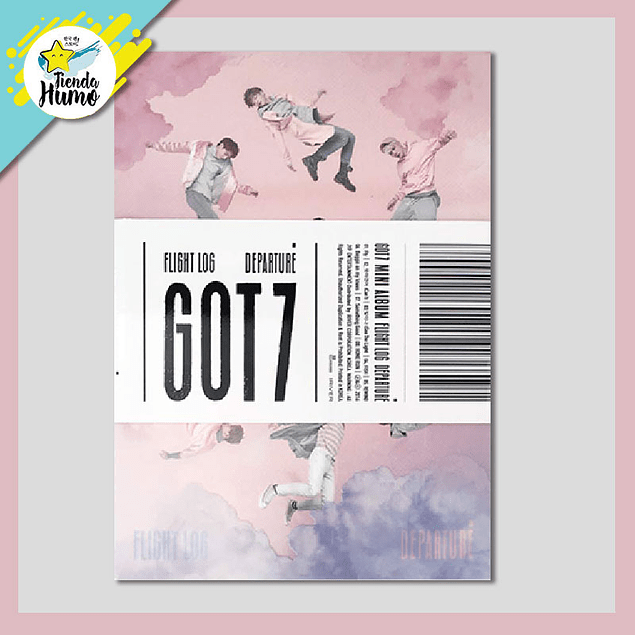 GOT7- FLIGHT LOG : DEPARTURE (ROSE QUARTZ Ver.)