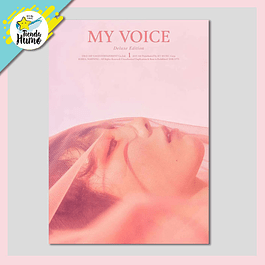 GIRLS GENERATION TAEYEON - MY VOICE DELUXE EDITION (BLOSSOM Ver.)